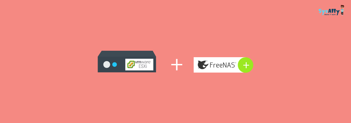 How to integrate a centralised FreeNAS NFS storage to a VMware ESXi