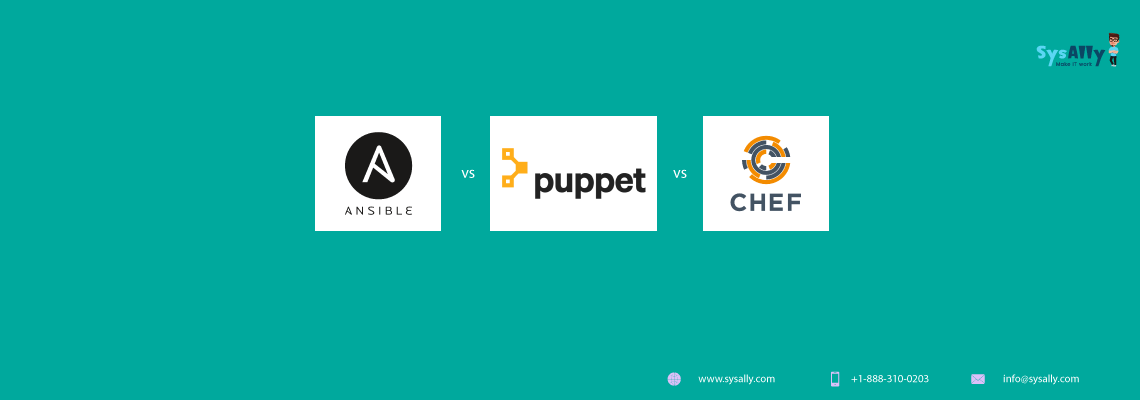 Comparison of Ansible, Puppet and Chef