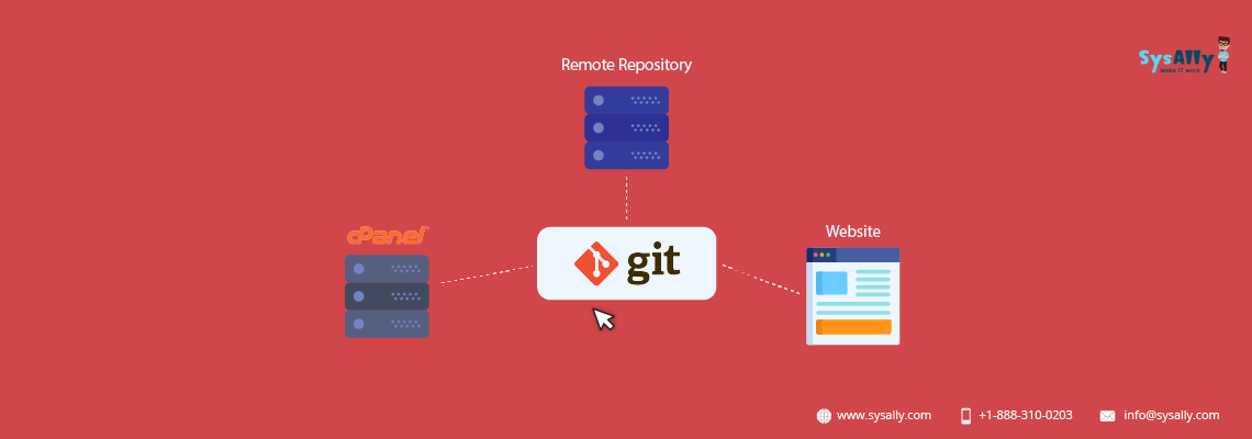 Git version control in Cpanel